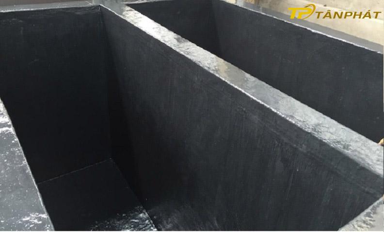 Sau khi bọc phủ bê tông bằng composite
