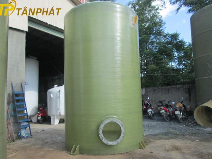 Bồn chứa hóa chất bằng composite 5m3